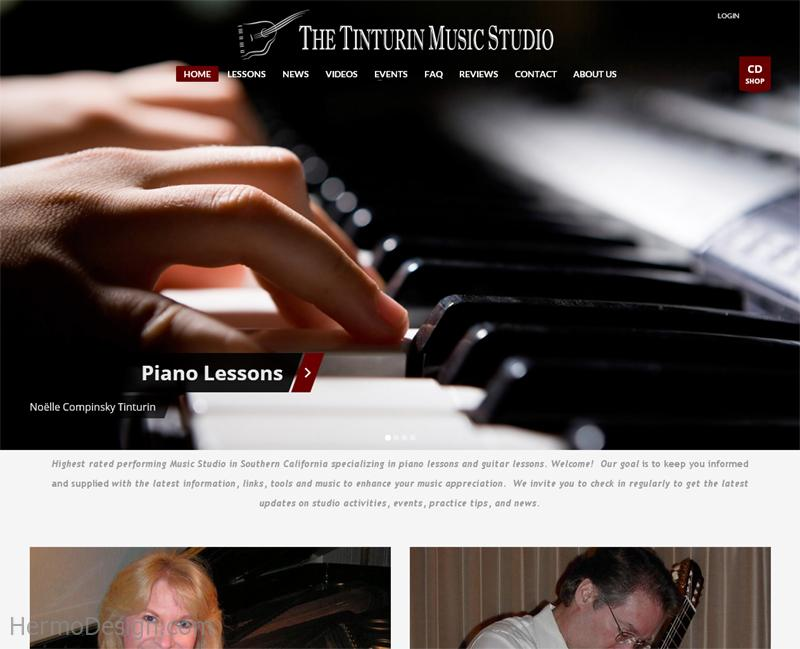 THE TINTURIN MUSIC STUDIO
